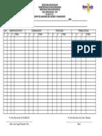 Registro de Asistencia de Docente y Paradocente 16-17