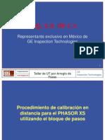 Procedimiento de Calibración en Distancia Para El PHASOR XS