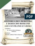 CONTRATOS EN EL DERECHO ROMANO