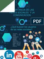 Importancia de Las Redes Alejandra