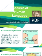 Features of Human Language.pptx