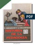 ABBAGNANO - VISALBERGHI - HISTORIA DE LA PEDAGOGIA