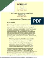 Metafísica de la Historia y la Geografía (10)- Francisco Ariza