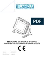 DD1050 Manual de Uso y Mantenimiento 81320292_es 12-04-2013
