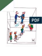Cartoons Igualdade de Oportunidades Profissionais