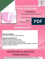 Redaccion Cancer de Mama