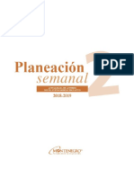 PLANEACION SEMANAL 2