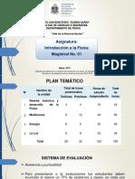 Conferencianº01 Reseña Historica y Desarrollo de La Fisica Propuesta