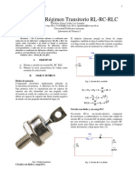 Analisis transitorio de un circuito RLC