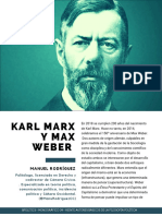 Karl marx Max weber