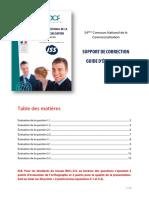 Examens Avec Correction de Prospection Commerciale