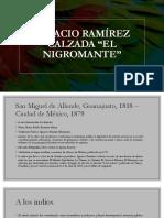 Ignacio Ramírez Calzada