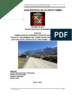 Estudio Geologico-Geodinamico