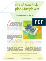 Design of Manifold-Coupled Multiplexers