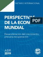 FMI - Creci Economico 2019