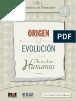 Origen y evolución de los derechos humanos