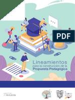 MINEDUC 2019 - Lineamientos Para La Construcción de La Propuesta Pedagogica