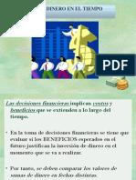 Presentacion Del Valor Del Dinero en El Tiempo
