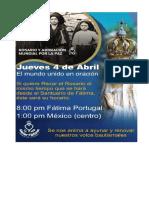 Rosario y Adoración Mundial Por La Paz - Para Dispositivo Móvil