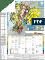 1.1.- Mapa Geológico de La República Del Ecuador - 2017