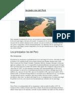 Principales Ríos Del Perú