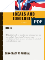 2ppt Lesson 2 Ideals and Ideologies