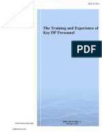IMCA - The Training and Experience of Key DP Personnel.pdf
