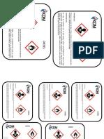 Pictogramas de Seguridad Etiquetas
