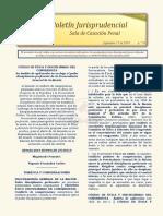 Boletin Jurisprudencial 2019-09-17