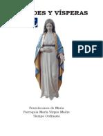 Laudes y Vísperas - Fcanos Maria - María Virgen Madre