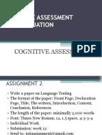 1. E. Assignment 2