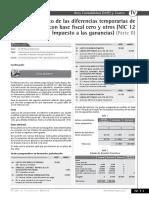 NIC 12 Impuesto a Las Ganancias Diferencias Temporarias Parte II 2016