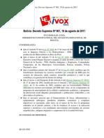 BO-DS-N961 Para Becas, Infraestructura y Equipamiento (Albergues, Guarderías Infantiles, Comedores y Complejos Deportivos)