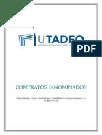 CONTRATOS INNOMINADOS