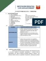 plan de tutoria 2019 - 1