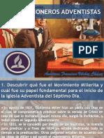 Pioneros adventistas