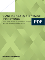 Vran the Next Step in Network Transformation Amdocs