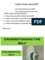 Philosophical Self