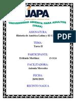 Actividad II Historia de America Latina y El Caribe i