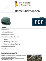 Combat Helmets Development