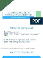 Manejo general de las intoxicaciones en Pediatría.pptx