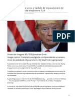 Bbc.com-O Telefonema Que Levou a Pedido de Impeachment de Trump a Um Ano Da Eleição Nos EUA (1)