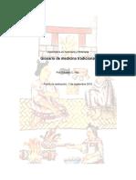 Glosario de Medicina Tradicional