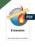 Estatutos Unión de Jovenes Lumbrera