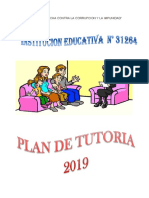 Plan Anual de Tutoria