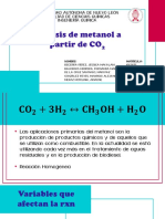 Sintesis de metanol