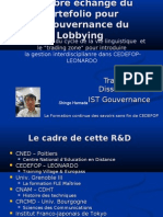 A free exchange of portefolio for the governance of Lobbying - LCR assessment of Trading Zone