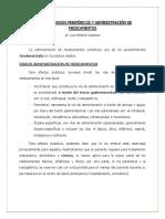Accesos Venosos Periféricos y Administración de Medicamentos