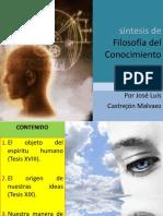 Síntesis de Filosofía Del Conocimiento