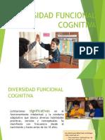 Diversidad Funcional Cognitiva